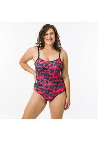 OLAIAN - Kostium Kąpielowy Jednoczęściowy Cloe Presana Damski. Kolor: różowy. Materiał: poliester, elastan, poliamid, materiał