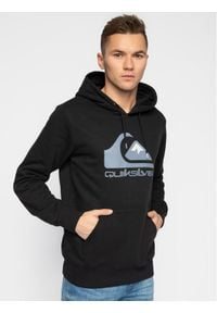 Quiksilver Bluza Comp Logo EQYFT04089 Czarny Regular Fit. Kolor: czarny