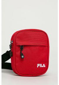 Fila - Saszetka. Kolor: czerwony. Rodzaj torebki: na ramię
