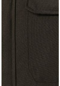 Czarna kurtka PRODUKT by Jack & Jones na co dzień, casualowa, z kapturem