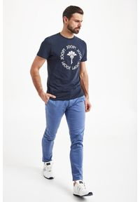 Joop! Collection - T-SHIRT ABRAMO JOOP! JEANS. Materiał: jeans. Styl: elegancki