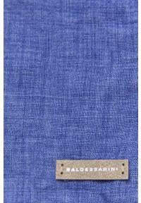 Niebieska koszula Baldessarini długa, na co dzień, z długim rękawem, klasyczna