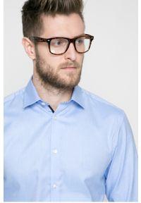 Niebieska koszula Selected klasyczna, z klasycznym kołnierzykiem