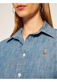 Niebieska koszula Lauren Ralph Lauren polo