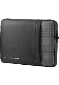 "Etui HP UltraBook Sleeve 12.5"" Czarno-szary. Kolor: wielokolorowy, czarny, szary"