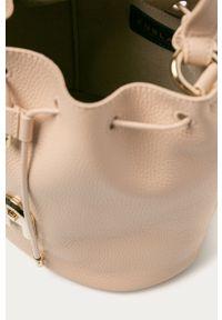 Różowa torebka Furla mała, na ramię
