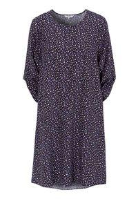Cellbes Wzorzysta sukienka Czarny we wzory female czarny/ze wzorem 54/56. Kolor: czarny. Materiał: włókno, wiskoza, materiał