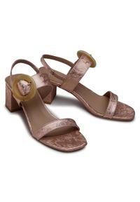 Różowe sandały Edeo