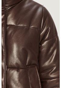 Brązowa kurtka Sportmax Code bez kaptura, casualowa, na co dzień