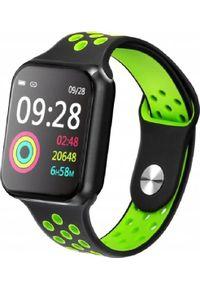 Zielony zegarek Microwear smartwatch