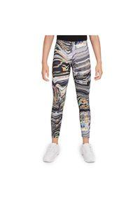 Getry sportowe dla dziewcząt Nike Sportswear Favorites DM4695. Materiał: bawełna, jersey, materiał, poliester. Wzór: nadruk