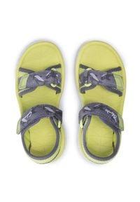 Clarks - Sandały CLARKS - Surfing Tide K 261563587 Yellow. Kolor: szary. Materiał: materiał. Sezon: lato. Styl: klasyczny