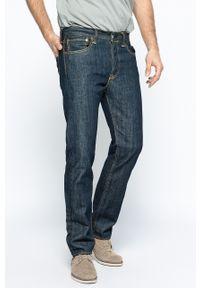 Niebieskie jeansy Levi's® klasyczne, z obniżonym stanem, z aplikacjami