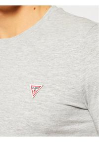 Guess T-Shirt M1RI36 I3Z11 Szary Slim Fit. Kolor: szary