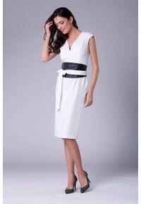 Sukienka wizytowa Nommo midi, ołówkowa, elegancka