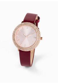 Czerwony zegarek bonprix elegancki