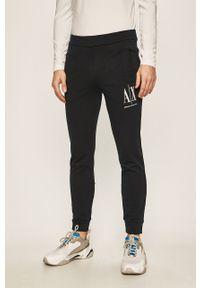 Niebieskie spodnie dresowe Armani Exchange