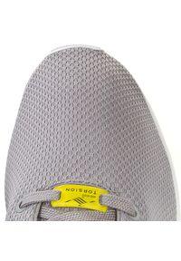 Szare buty sportowe Adidas ZX Flux, z cholewką