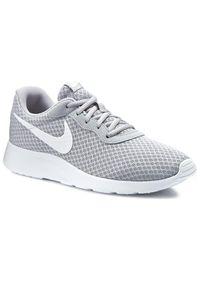 Szare sneakersy Nike trekkingowe, z cholewką