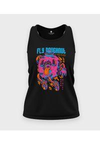 MegaKoszulki - Koszulka damska bez rękawów Lecący pączek. Materiał: bawełna. Długość rękawa: bez rękawów