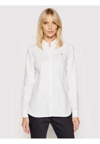 TOMMY HILFIGER - Tommy Hilfiger Koszula Heritage Regular Fit Shirt 1M87647512 Biały Regular Fit. Kolor: biały