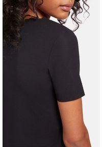 Czarna bluzka Wolford casualowa, gładkie, na co dzień