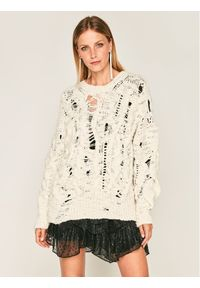Biały sweter klasyczny IRO