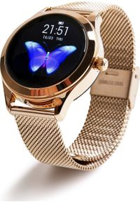 oromed - Smartwatch Oromed Smart Lady Gold Różowe złoto. Rodzaj zegarka: smartwatch. Kolor: złoty, różowy, wielokolorowy