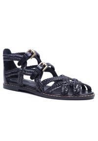 Czarne sandały See By Chloé