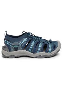 Niebieskie sandały trekkingowe keen