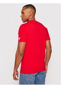 Guess T-Shirt M1GI78 J1311 Czerwony Slim Fit. Kolor: czerwony