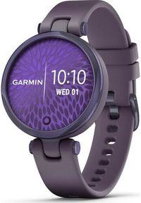 GARMIN - Zegarek sportowy Garmin Lily Sport Fioletowy (010-02384-12). Kolor: fioletowy. Styl: sportowy