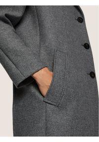 Szary płaszcz przejściowy BOSS