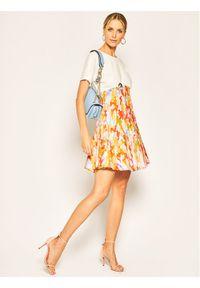 iBlues Sukienka codzienna Scorza 76210302 Biały Regular Fit. Okazja: na co dzień. Kolor: biały. Typ sukienki: proste. Styl: casual #5