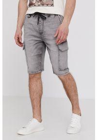 medicine - Medicine - Szorty jeansowe Basic. Okazja: na co dzień. Kolor: szary. Materiał: jeans. Styl: casual