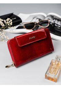 Czerwony portfel ROVICKY