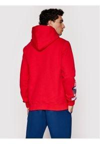 Prosto. - PROSTO. Bluza KLASYK Burnout 2013 Czerwony Regular Fit. Kolor: czerwony
