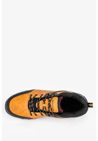 Badoxx - Camelowe buty trekkingowe sznurowane badoxx mxc8811. Kolor: brązowy