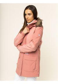 Różowa kurtka sportowa DC snowboardowa