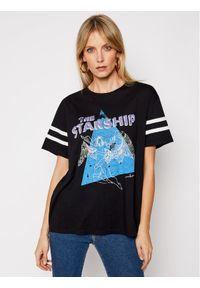 Czarny t-shirt One Teaspoon