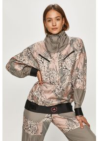 Wielokolorowa kurtka Adidas by Stella McCartney krótka