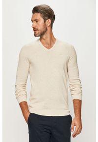 Biały sweter s.Oliver casualowy, długi, na co dzień