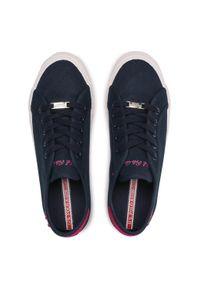 U.S. Polo Assn - Tenisówki U.S. POLO ASSN. - Marew035 MAREW4035S1/C1 Dkbl/Fux. Okazja: na co dzień. Kolor: niebieski. Materiał: materiał. Szerokość cholewki: normalna. Wzór: aplikacja. Styl: casual