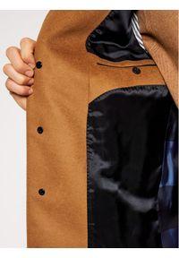 Brązowy płaszcz przejściowy TOMMY HILFIGER