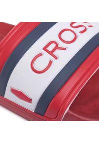 Cross Jeans - Klapki CROSS JEANS - FF1R4093C Red. Okazja: na co dzień. Kolor: czerwony. Materiał: materiał. Styl: casual
