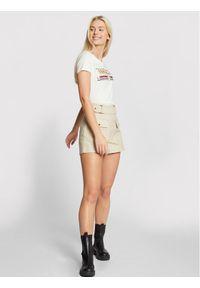 Morgan T-Shirt 211-DITALIE Biały Regular Fit. Kolor: biały #5