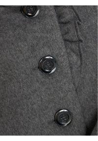Mayoral Płaszcz wełniany 4409 Szary Regular Fit. Kolor: szary. Materiał: wełna