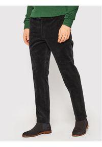 Czarne spodnie Oscar Jacobson