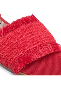 Czerwone sandały Red Valentino