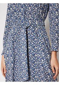 Niebieska sukienka Weekend Max Mara na co dzień, casualowa, prosta